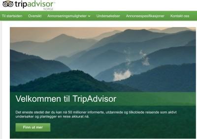 Kurs i Tripadvisor for reiselivsbedrifter web og sosiale medier for reiselivet